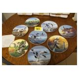 Ducks Unlimited Classic Waterfowl Plate Collection