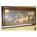 """""""The Last Supper"""" Framed Print"""
