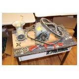 Meat Grinder w/1/4 hp motor & accessories