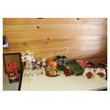 Various Holiday Decor