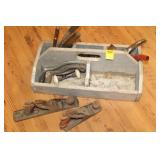 Woodworking tools, toolbox etc