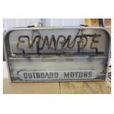 Vintage Evinrude Outboard Motors Neon Sign