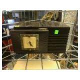 Vintage Teletron Countertop Radio with clock