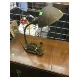 Cast Base Table Lamp, in working condition