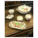 Assorted decorative bone china