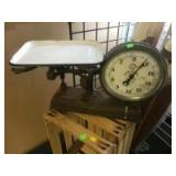 Antique Chas. Forschner and Sons 20 pound scale, Type 32 Serial 1