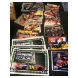 NASCAR Hero Cards and Assorted posters. See description for more details