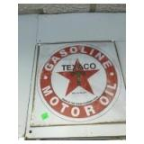 Newer Texaco Sign, 12 x 12 inches