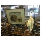 Framed Matted Home Decor picture