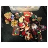Bear lot, many are Christmas Themed