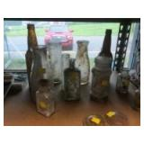 Vintage and Antique Bottle Collection