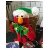 Elmo Christmas Decor with box