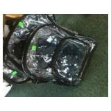 Set of 3 Clear Backpacks