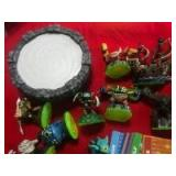 PS3 Skylanders Game with action figures