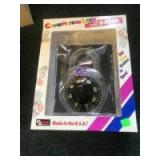 Combination Lock Coin Bank, NEW