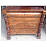 Antique Ornate Carved Dresser