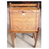 Mission Oak Style Slant Front Desk
