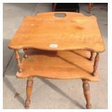 Vintage Maple Side Table