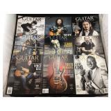 Collection of Guitar Aficionado Magazines