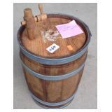 Small Wooden Barrel Keg