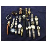 Group of 20 Watches Being Sold AS IS