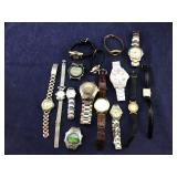 Group of 15 Watches Being sold AS IS