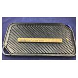 Large Iron Double Sided Rachael Ray Griddle