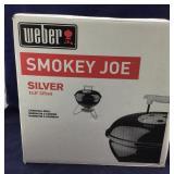 Boxed Weber Silver Smokey Joe Charcoal Grill