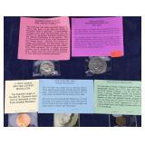 Copper Medallion, Proof Half Dollar, & More