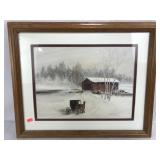 Print on Canvas Wooden Frame