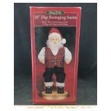 Hip Swinging Santa NIB