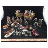 Nativity Sets, Snowflake Village Pieces & Sleigh