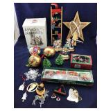 Small Assorted Vintage Christmas Decorations