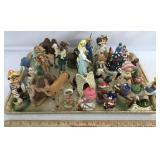 Assorted Christmas Ornaments and Decorations