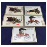 5 Ransom Motors Advertising Framed Thermometers