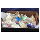 Large Box of Craft Supplies