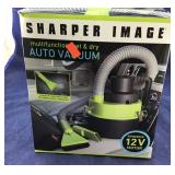 Boxed Sharper Image 12V Wet Dry Auto Vac