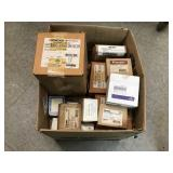 Large Box of New Miscellaneous Electrical Items