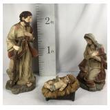 Large Nativity Set Joseph Mary and Jesus