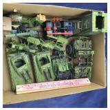 Box of GI Joe Vehicles From The 1990