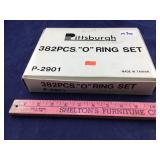 "Box of Pittsburgh ""O"" Rings, 382 Pcs, Model P-2901"
