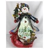 Metal Christmas Snowman Decoration