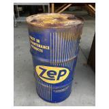 Vintage Zep Oil Barrel