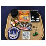 Police Badges and Clip-on Plus Miscellaneous