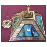 Dale Tiffany, Inc. Stained Glass Hanging Lamp