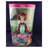 Boxed Disney Porcelain Ariel Doll