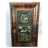 Antique Patent Brass Clock
