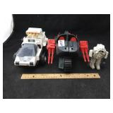 2 Military Vehicles & Robot or Solder