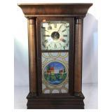Berge & Fuller Antique Wall Clock