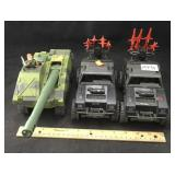3 Military Vehicle Toys